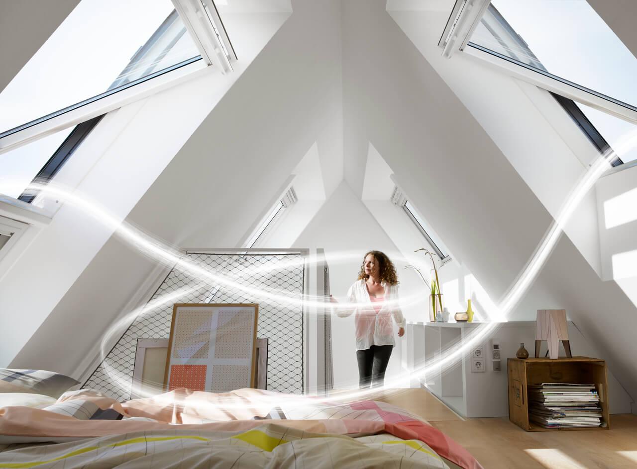 Richtig Luften Bis Ins Dachgeschoss Velux Magazin