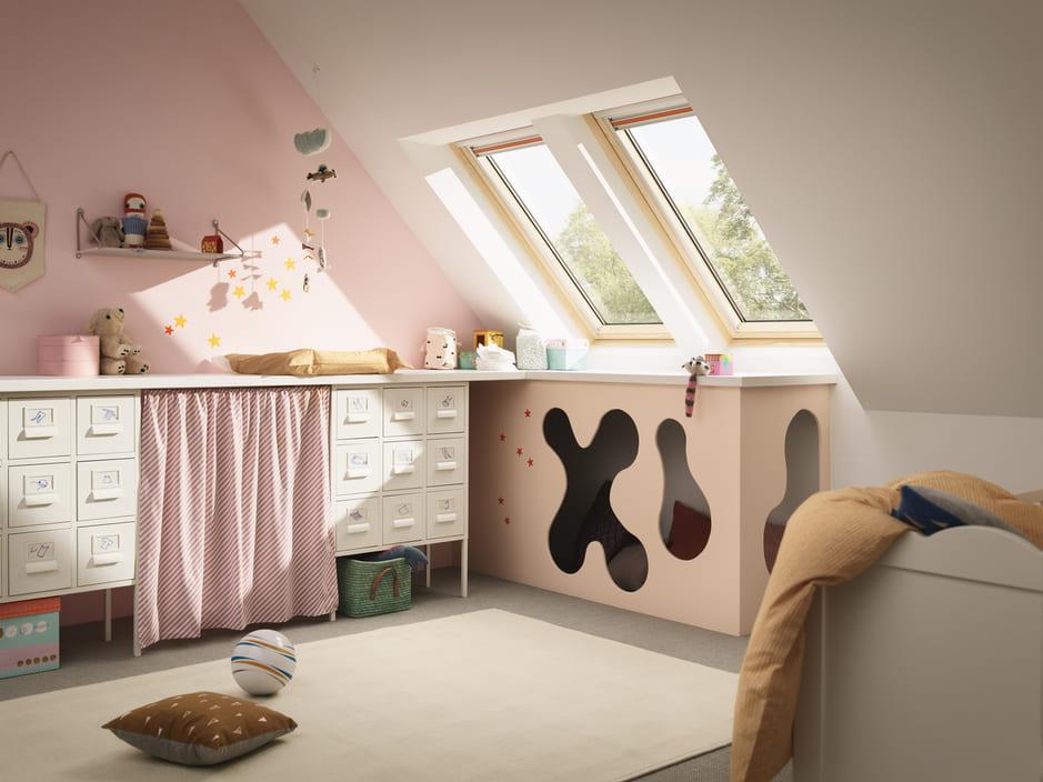 Zimmer Mit Dachschrage Optisch Vergrossern 8 Tipps Velux Magazin