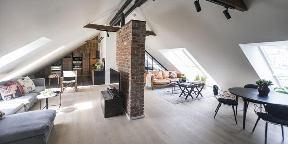 Zimmer Mit Dachschrage Optisch Vergrossern 8 Tipps
